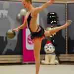 ritmisch gymnastiek met bal